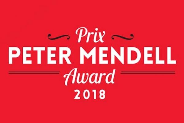 Prix Peter Mendell 2018